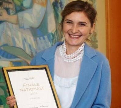 2018年法国香槟大使:Catalina Melniciuc女士