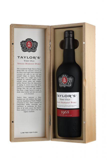 葡萄牙泰勒波特酒庄发售1968年份波特酒