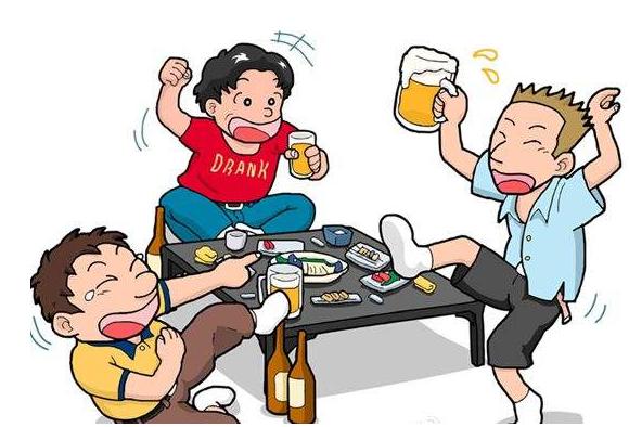 饮酒过后,酒精所导致的生理反应情形会是怎样呢?