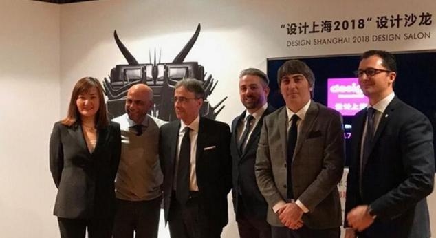 """意大利维罗纳会展与""""设计上海""""主办方在北京召开新闻发布会"""