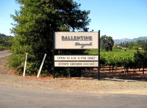 巴伦丁酒庄(Ballentine Vineyards)