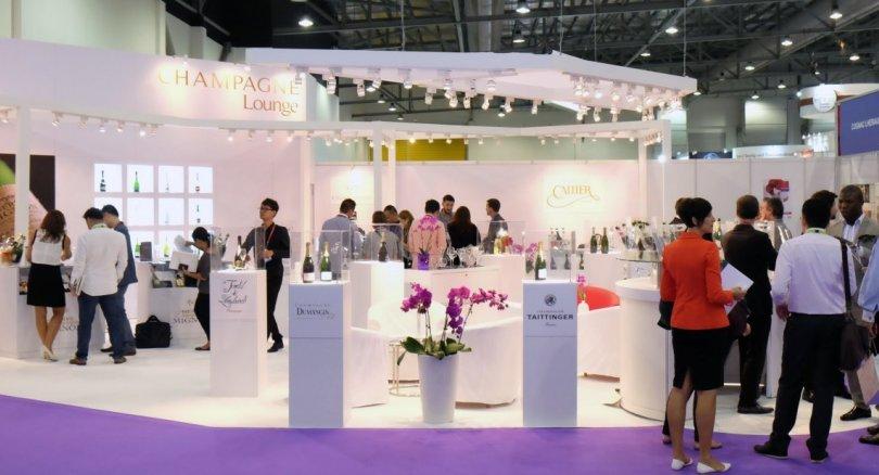 多达300名参展商参展2018年ProWine Asia展会