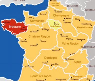 法国布列塔尼大区或会重新种植葡萄和酿造葡萄酒