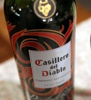 智利干露酒庄红魔鬼被评为全球第二大葡萄酒品牌