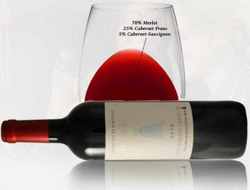 法国波尔多圣爱美浓宝树酒庄品丽珠赤霞珠银钟AOC干红葡萄酒