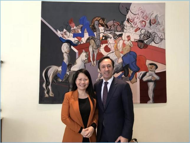 四国大使盛装出席开幕式,共贺Interwine北京展盛举