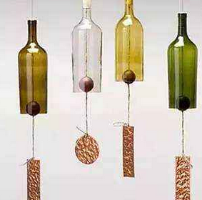 废弃酒瓶新玩法,你会吗?