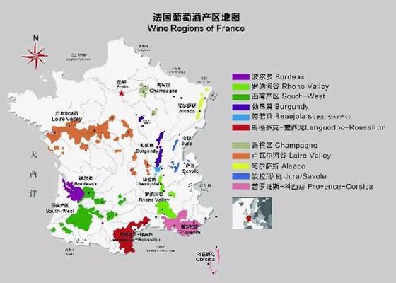你想了解的法国葡萄酒产区入门指南