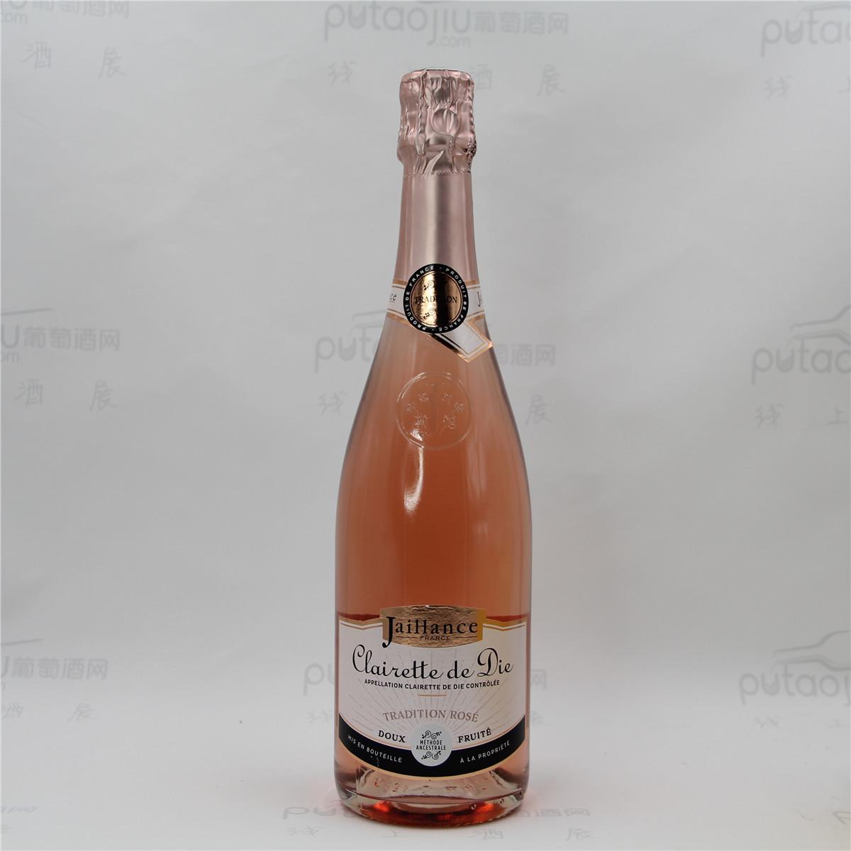 法國波爾多雅釀絲酒莊佳美麝香粉紅女郎AOC高泡甜葡萄酒