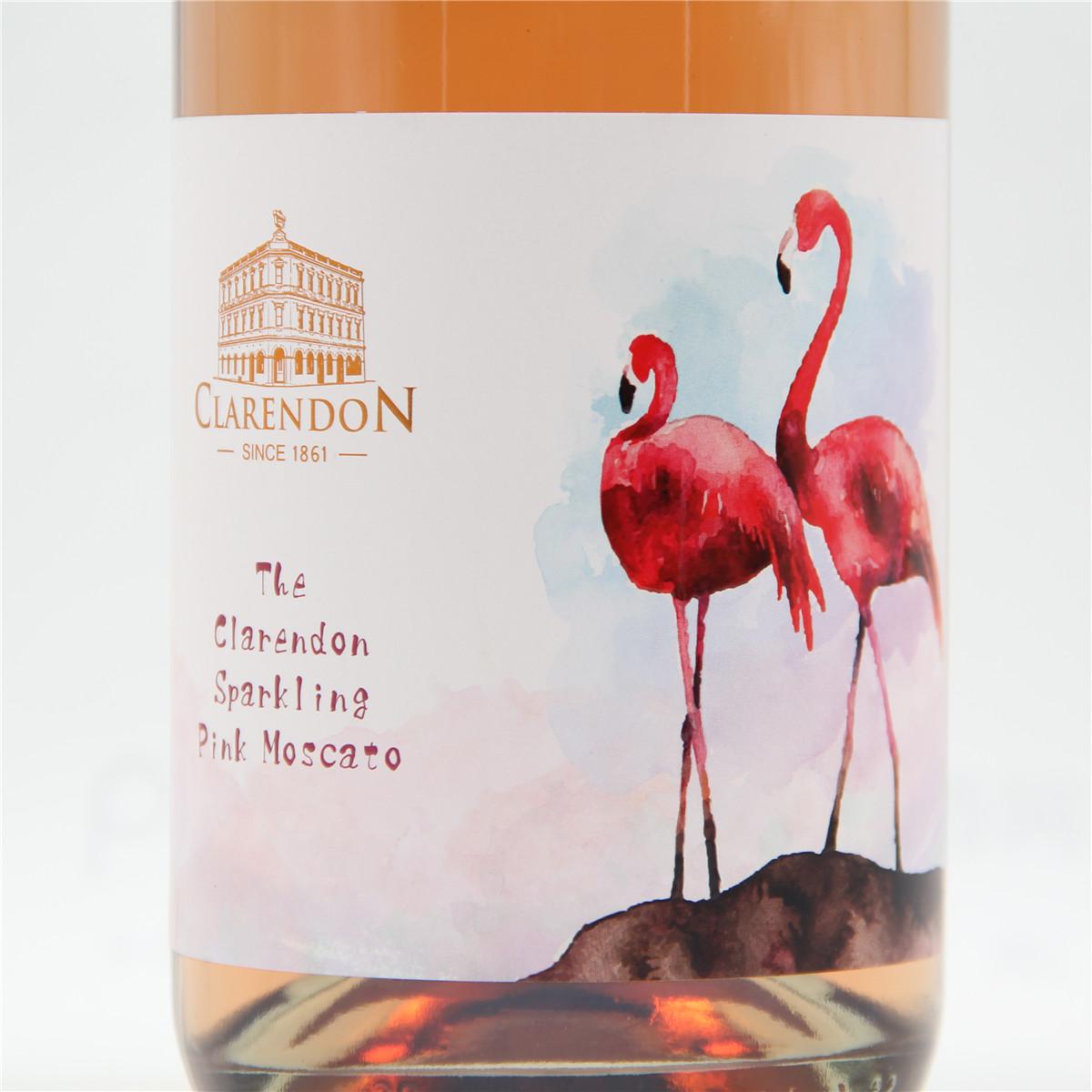 澳大利亚亨蒂产区克莱顿酒庄慕斯卡托粉红起泡酒