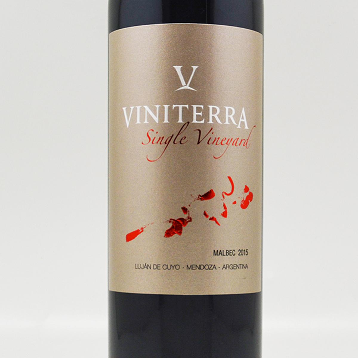阿根廷门多萨省维尼特酒庄马尔贝克单一园干红葡萄酒