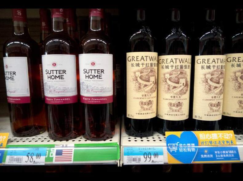 今年上半年,美国葡萄酒出口到中国市场的金额增长14%