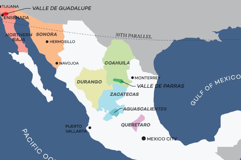 墨西哥葡萄酒概况