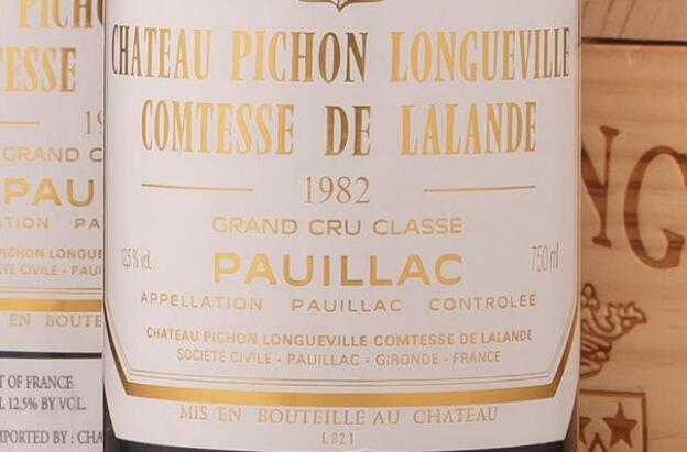 82年拉菲葡萄酒—波尔多1982年的传奇故事