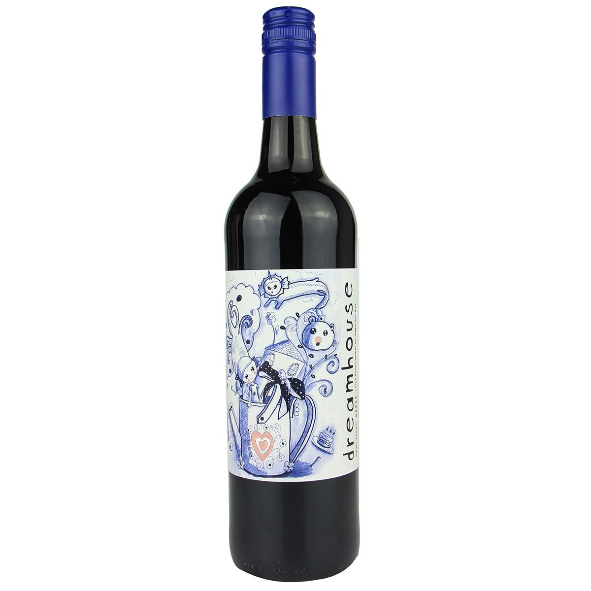 澳大利亞亨蒂產區亨蒂酒園夢幻屋西拉赤霞珠五星酒莊干紅葡萄酒