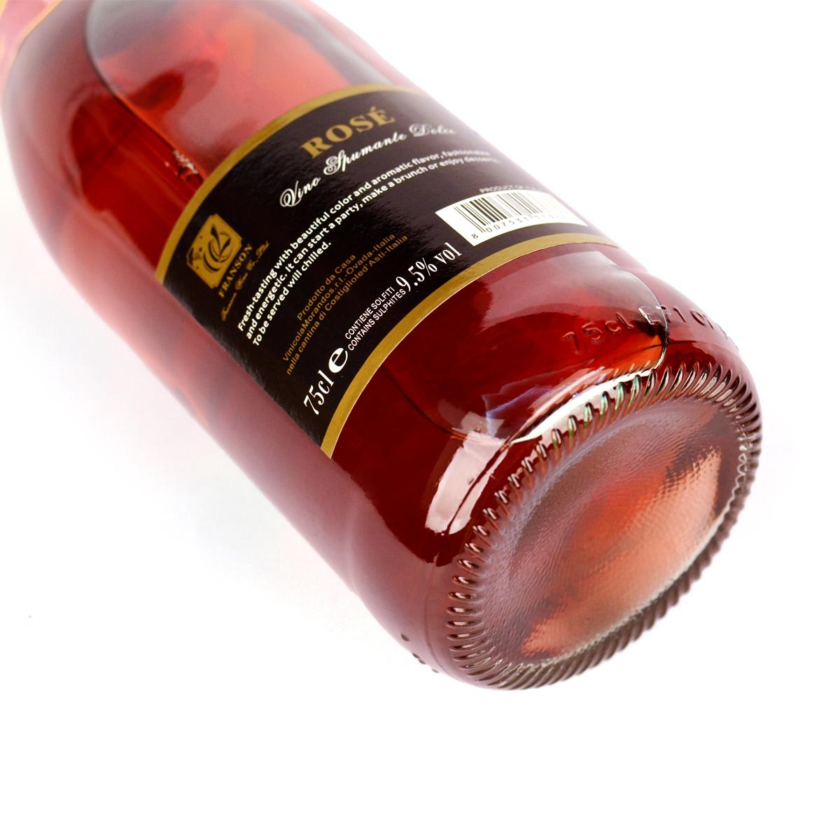 人323-丰颂-玫瑰红起泡葡萄酒