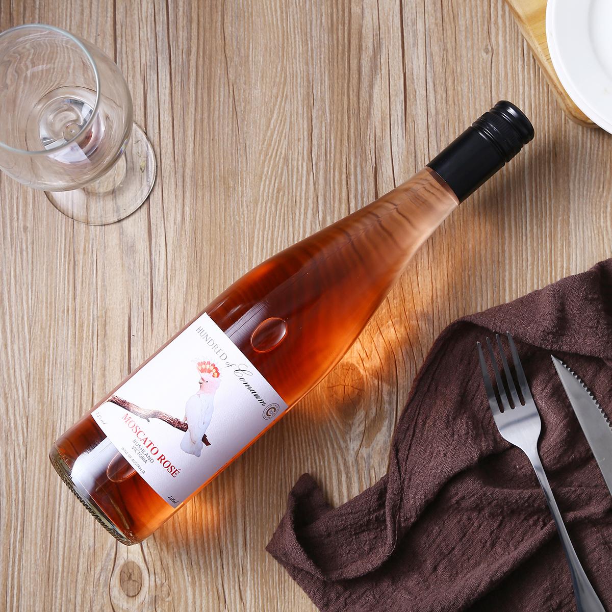 澳大利亚古口一百号酒业集团丛林系列 莫斯卡托粉红玫瑰
