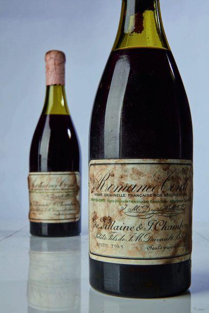 2018年苏富比葡萄酒总拍卖额超过一亿美元