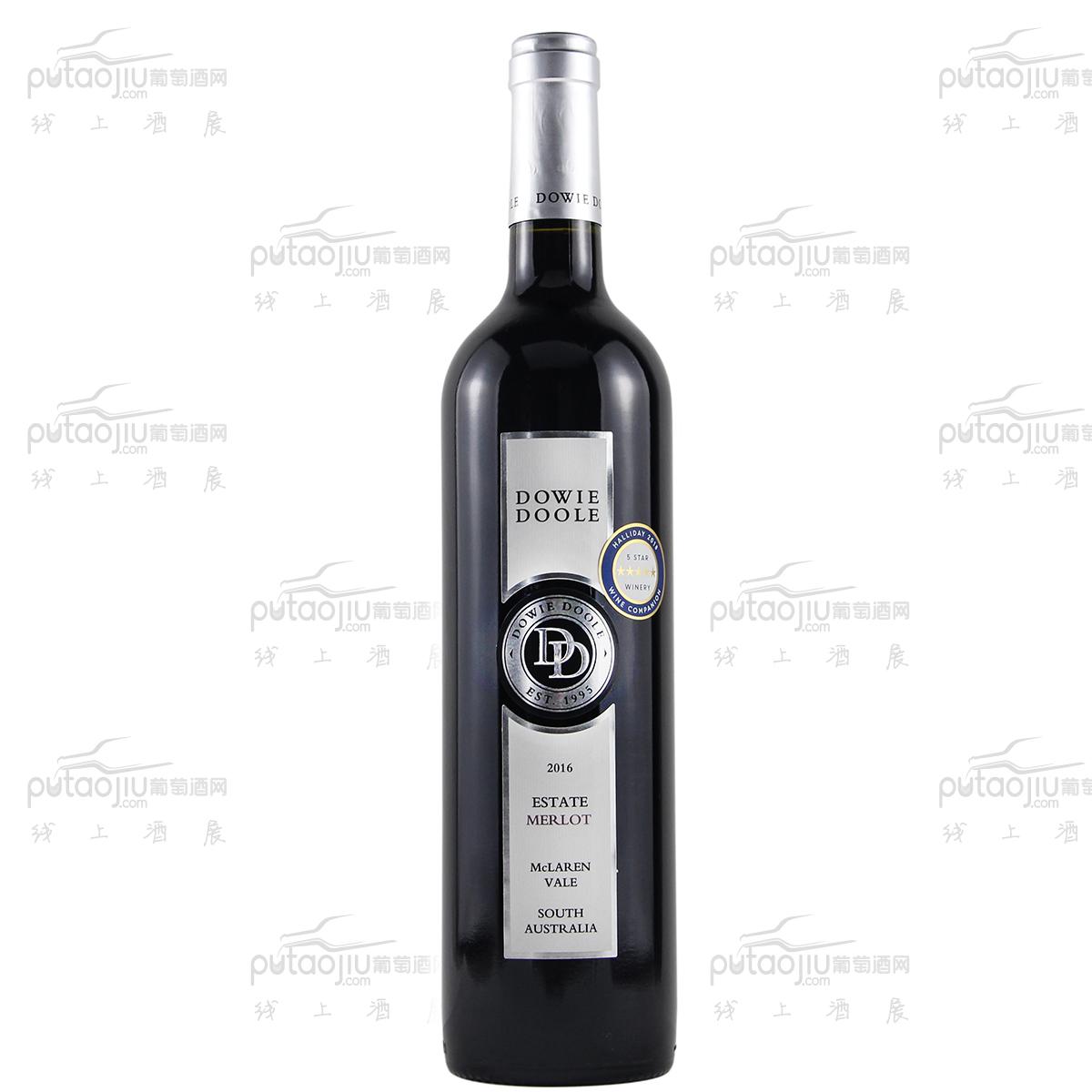 澳大利亚麦克拉伦谷产区都度庄园梅洛干红葡萄酒