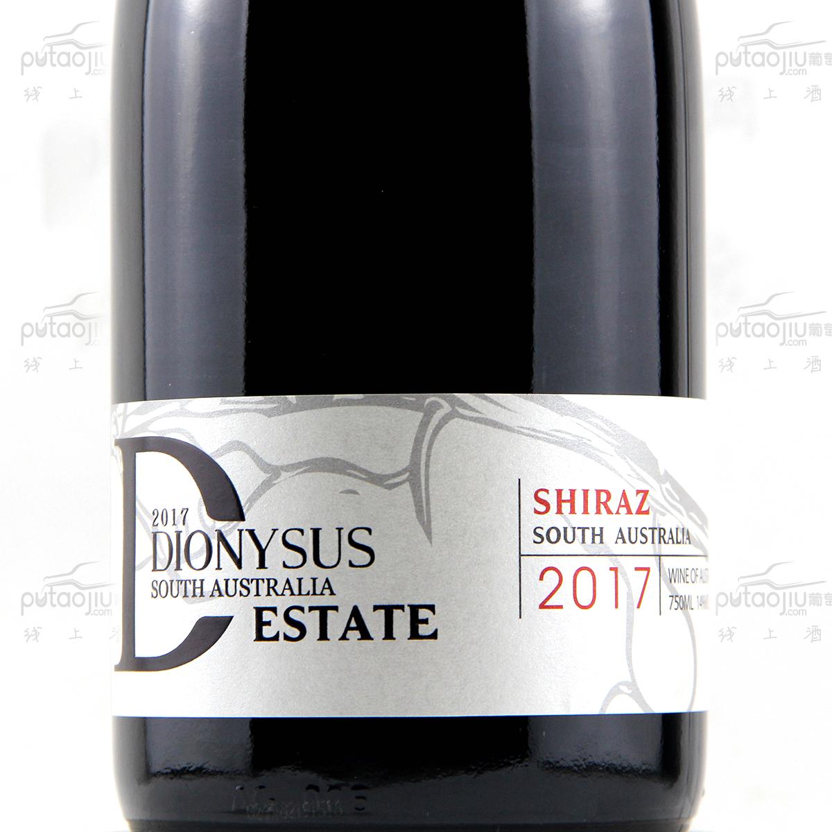 澳大利亚南澳帝澜思西拉干红葡萄酒