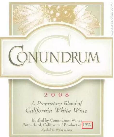三分钟看懂美国葡萄酒酒标!
