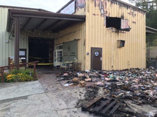 索诺玛县葡萄酒庄发生大火,造成50万美元的经济损失