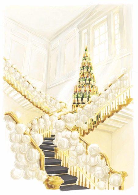 法国酩悦香槟在伦敦举办Summer House活动