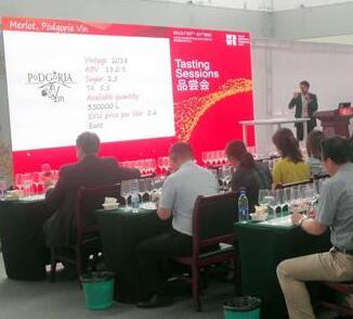 世界葡萄酒及烈酒展览会亚洲展在烟台国际博览中心开幕