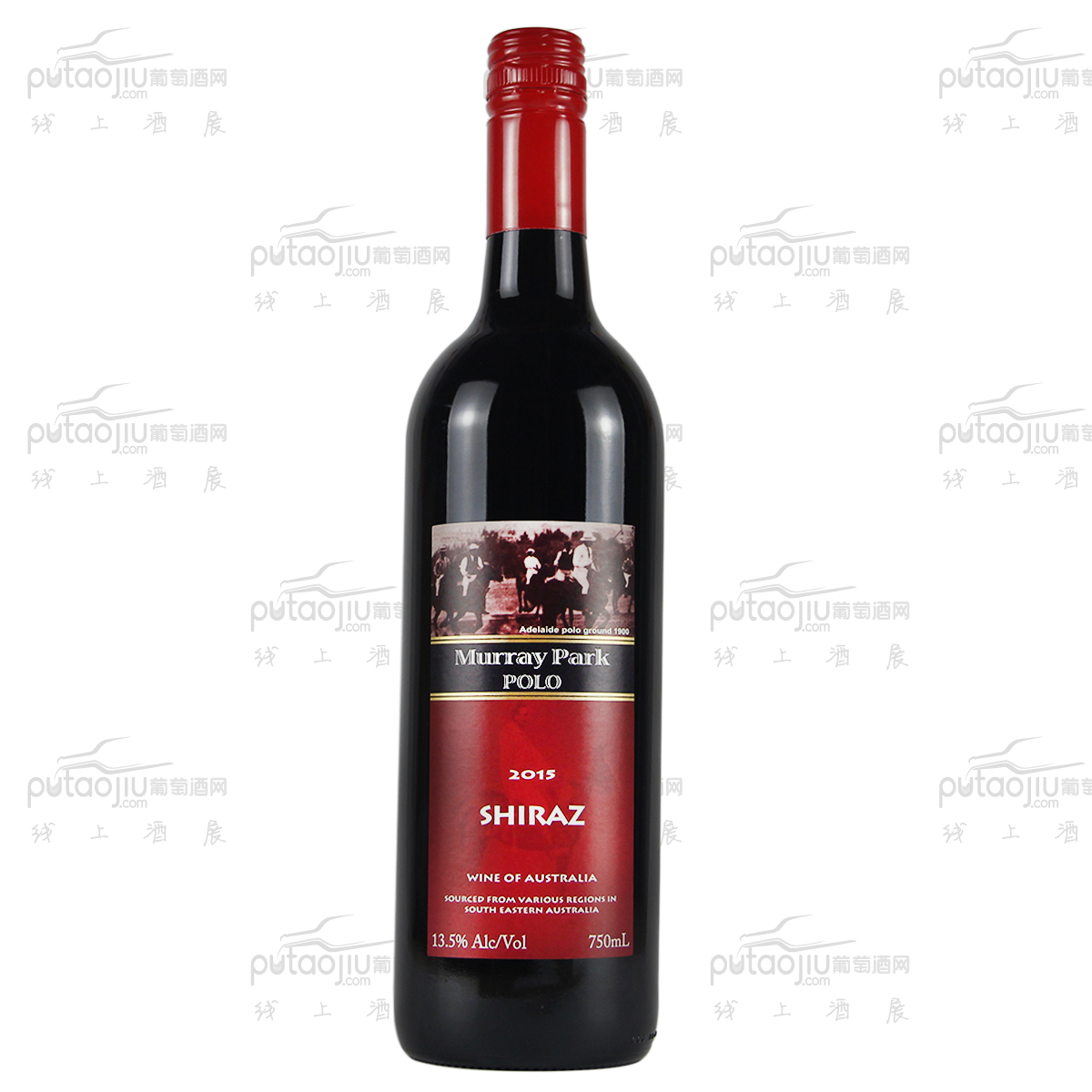 澳大利亚高奔产区澳宝红酒庄舒惠特保罗.马瑞园干红葡萄酒