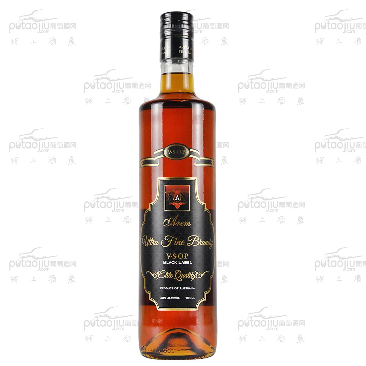 澳大利亞高奔產區澳寶紅酒莊混釀特級VSOP白蘭地