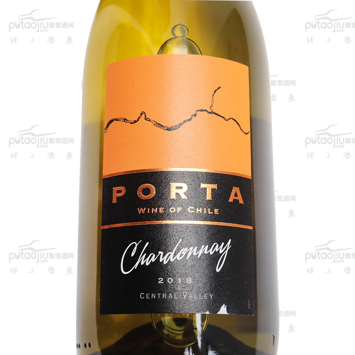 智利中央山谷杜斯安德酒莊普拓霞多麗干白葡萄酒