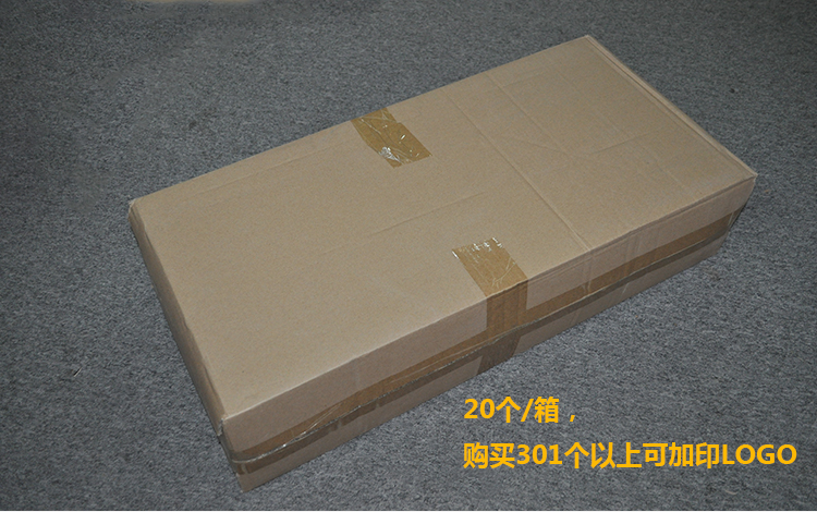 中国红双支酒盒