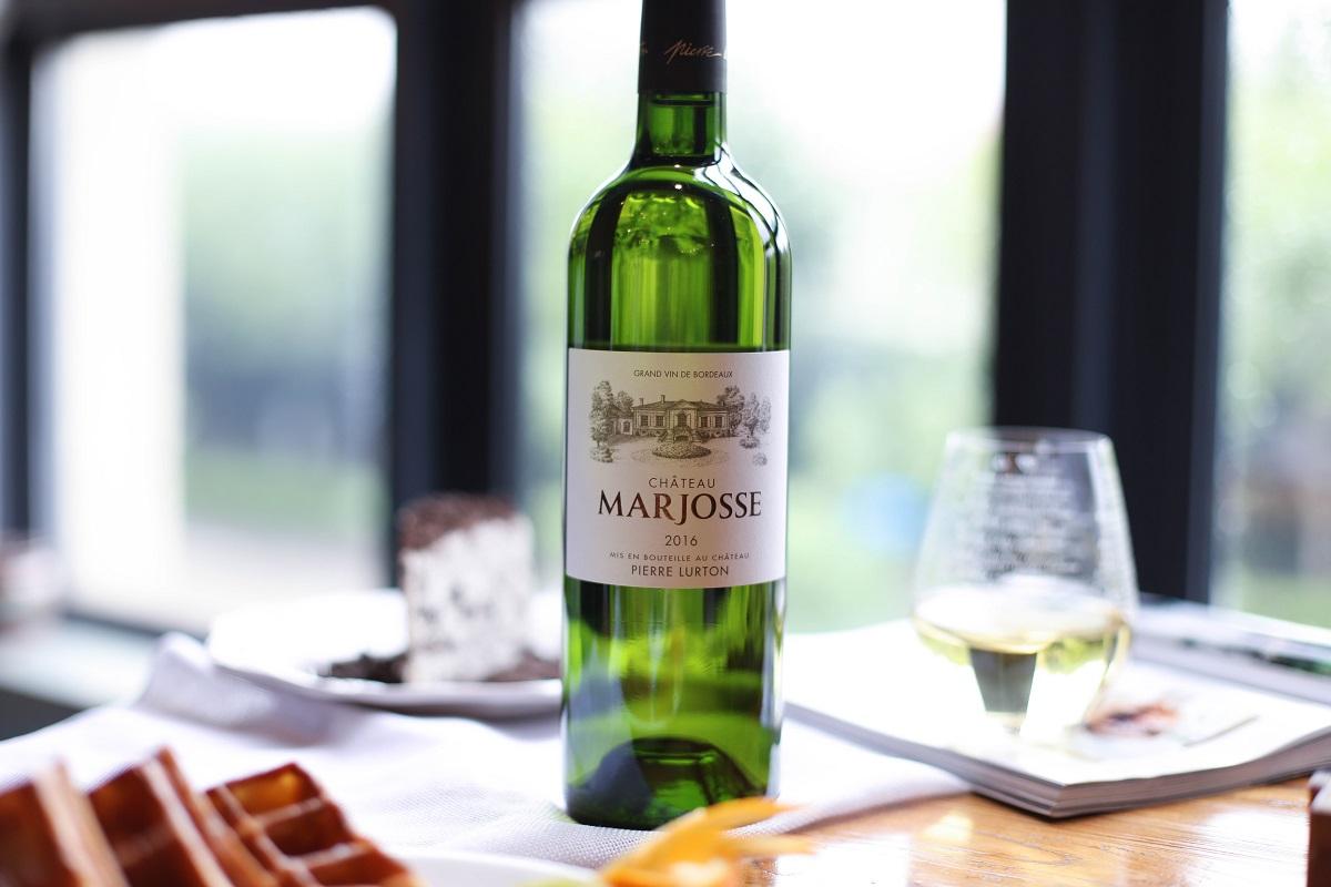 法国波尔多玛玖思城堡长相思赛美蓉AOC干白葡萄酒