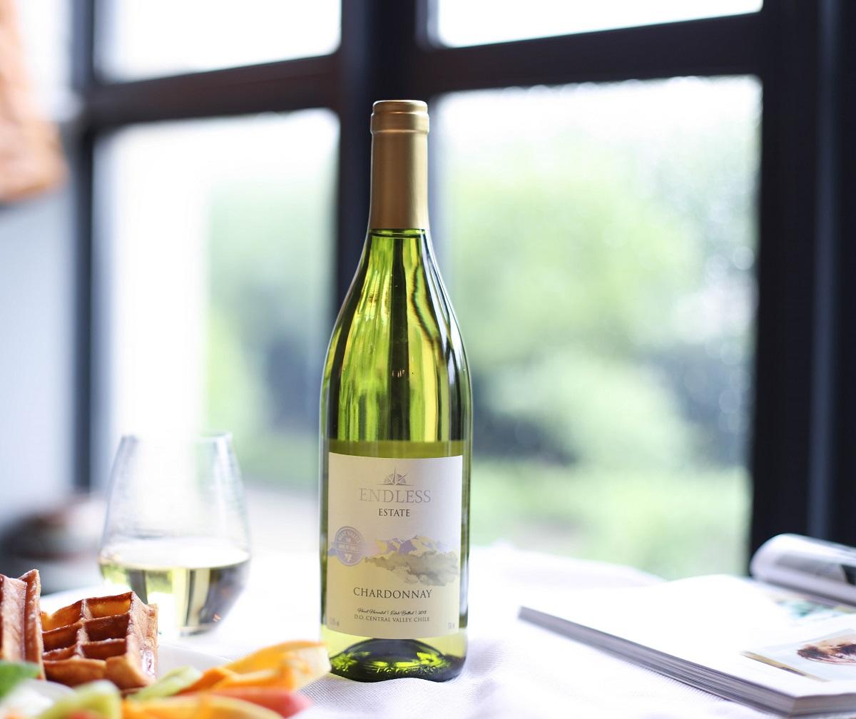 智利中央山谷安第之脉霞多丽干白葡萄酒