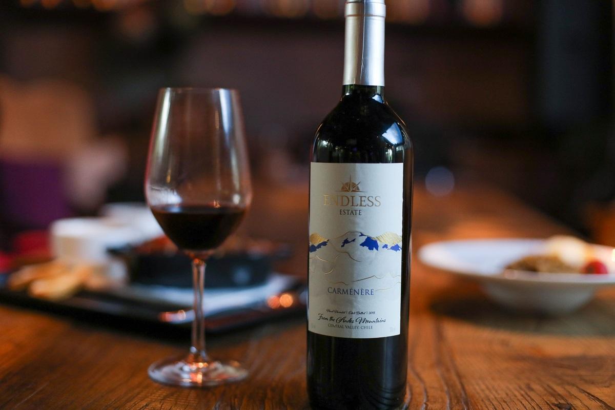 智利中央山谷安第之脉佳美娜干红葡萄酒