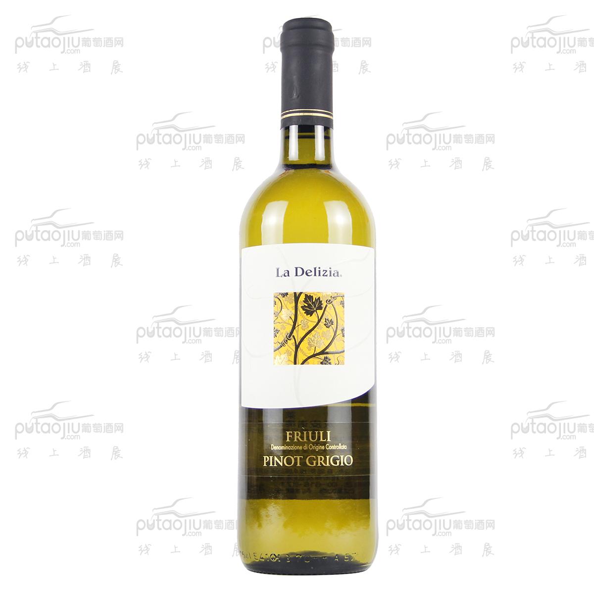 意大利弗留利萊多吉酒莊灰皮諾精選DOC干白葡萄酒