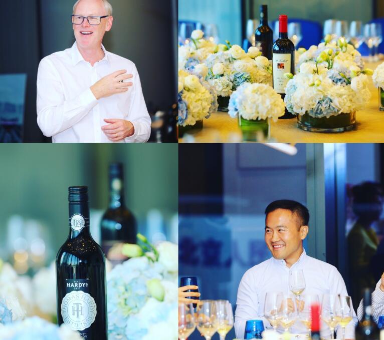 誉嘉葡萄酒集团澳洲高层到访中国