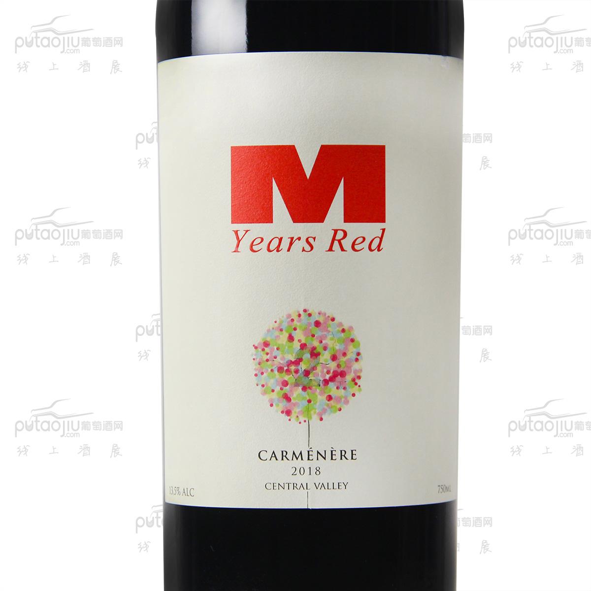 智利空加瓜谷希赫酒庄曼年红·佳美娜品种级干红葡萄酒