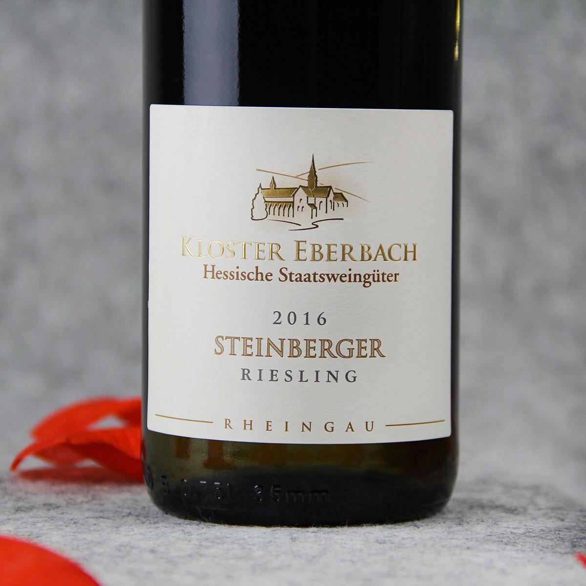 德国莱茵高埃伯巴赫酒庄雷司令施泰因贝格园VDP村庄级半甜白葡萄酒