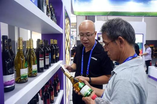 宁夏贺兰山东麓葡萄酒在贵州酒博会上亮相
