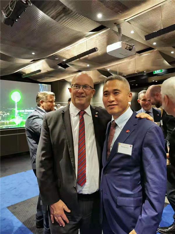 澳洲大陆酒业集团董事长陈兆辉先生应邀参加澳洲总商会联合举办的庆建国70周年活动
