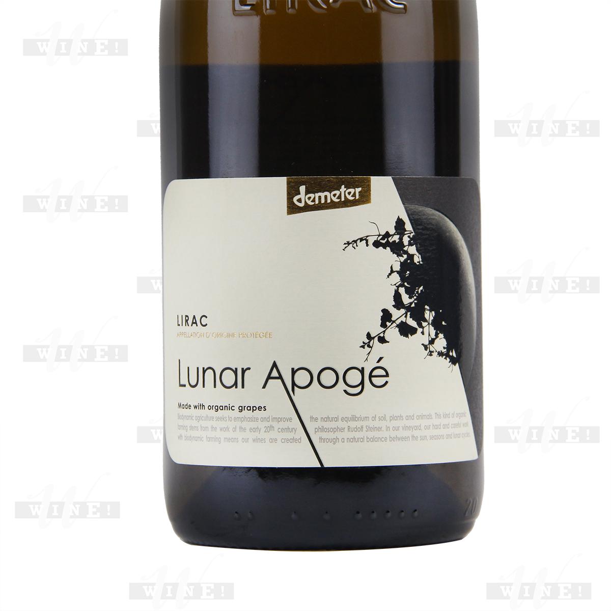 法国利哈克枪骑兵庄园混酿遥月AOC干白葡萄酒