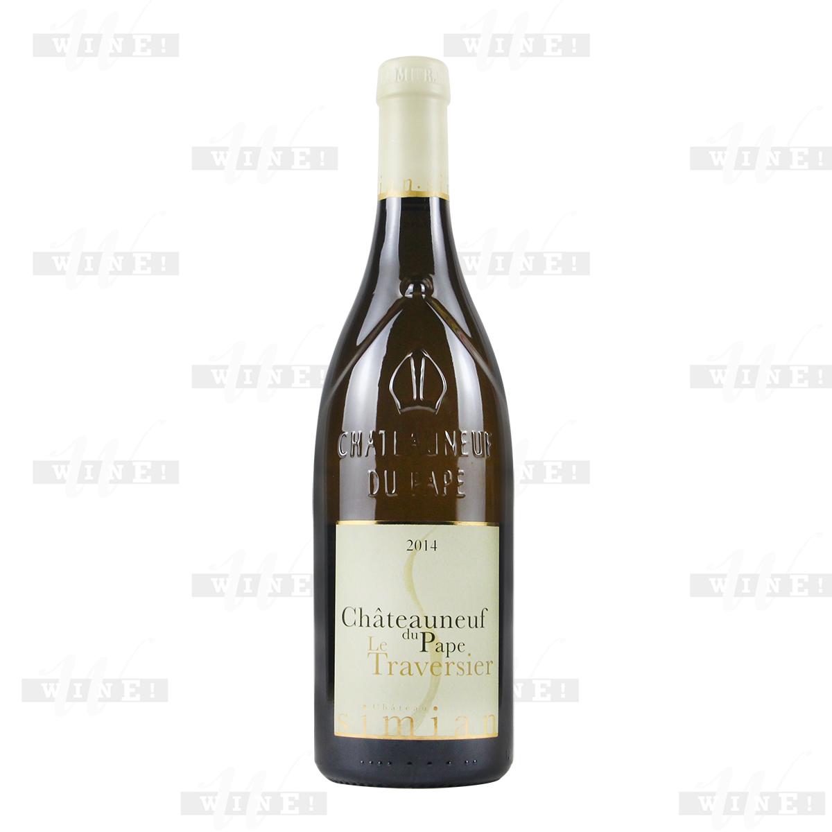 法国教皇新堡产区思绵堡混酿AOC干白葡萄酒