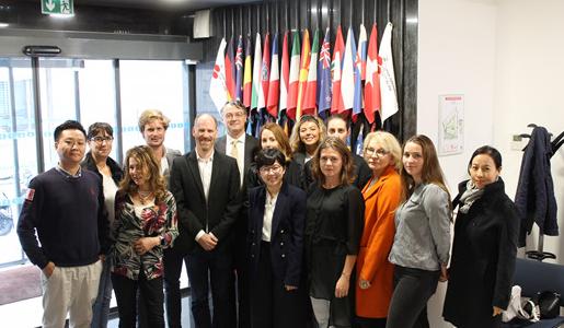 第32届OIV MSc葡萄酒管理硕士班在OIV总部举行