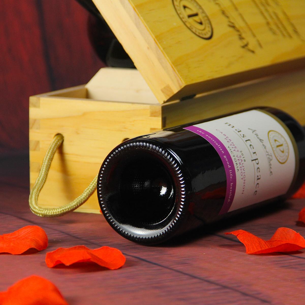 澳大利亚安德鲁皮士酒庄皮士大师 赤霞珠小维多干红葡萄酒