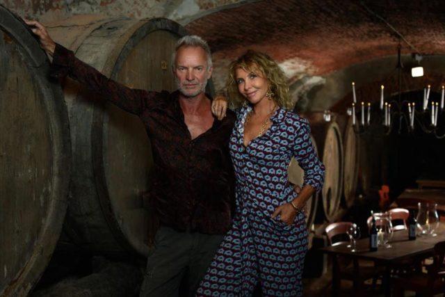 创作型歌手Sting与意大利酒庄Villa di Geggiano建立合作关系
