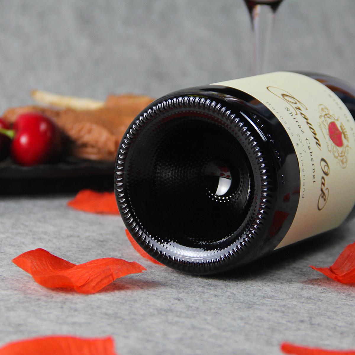 澳大利亚巴罗萨山谷皇冠金橡西拉赤霞珠混酿干红葡萄酒红酒
