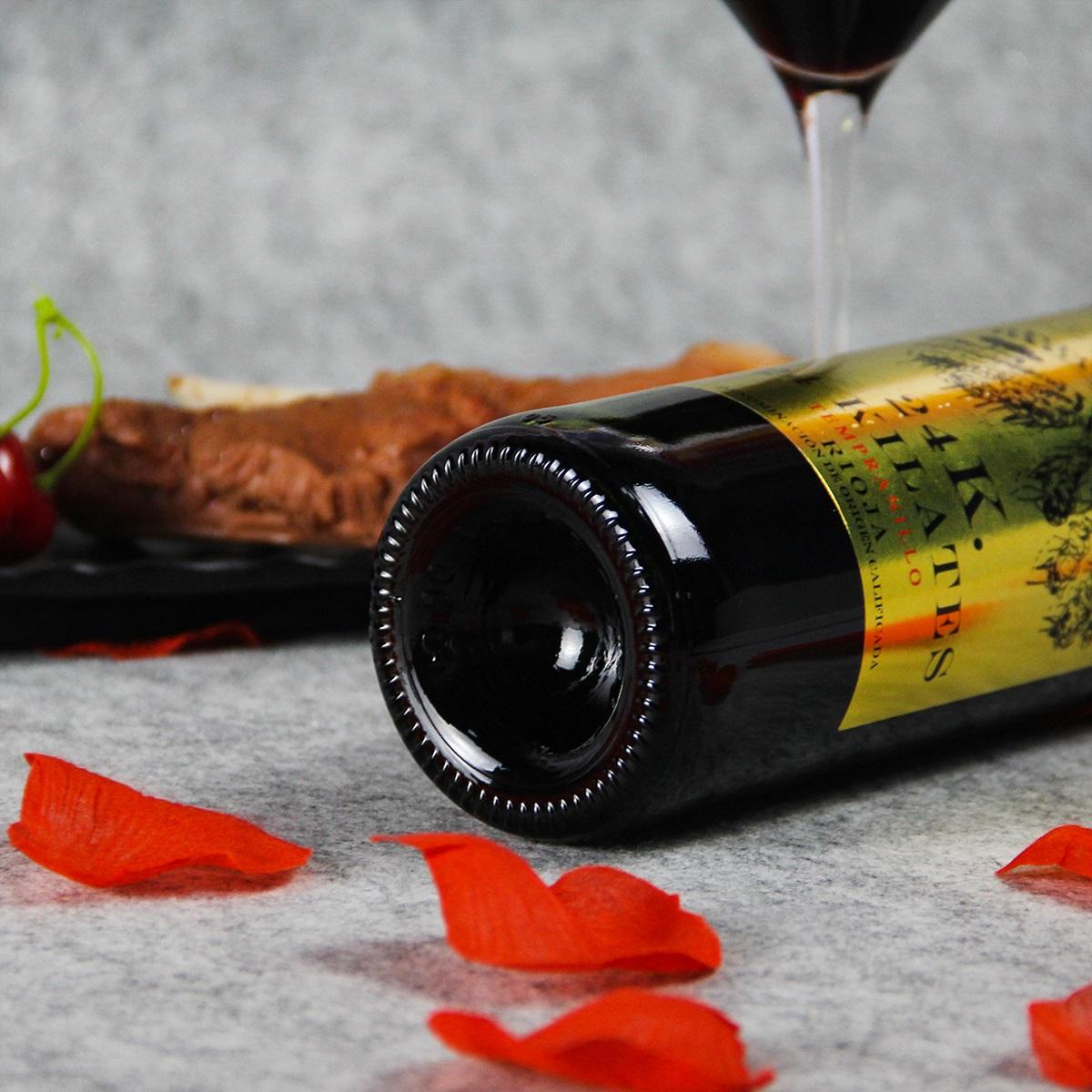 西班牙里奥哈24K黄金干红葡萄酒