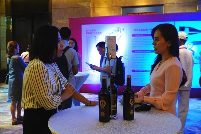 贺兰山东麓葡萄酒亮相深圳,展示国产酒的魅力与风采!