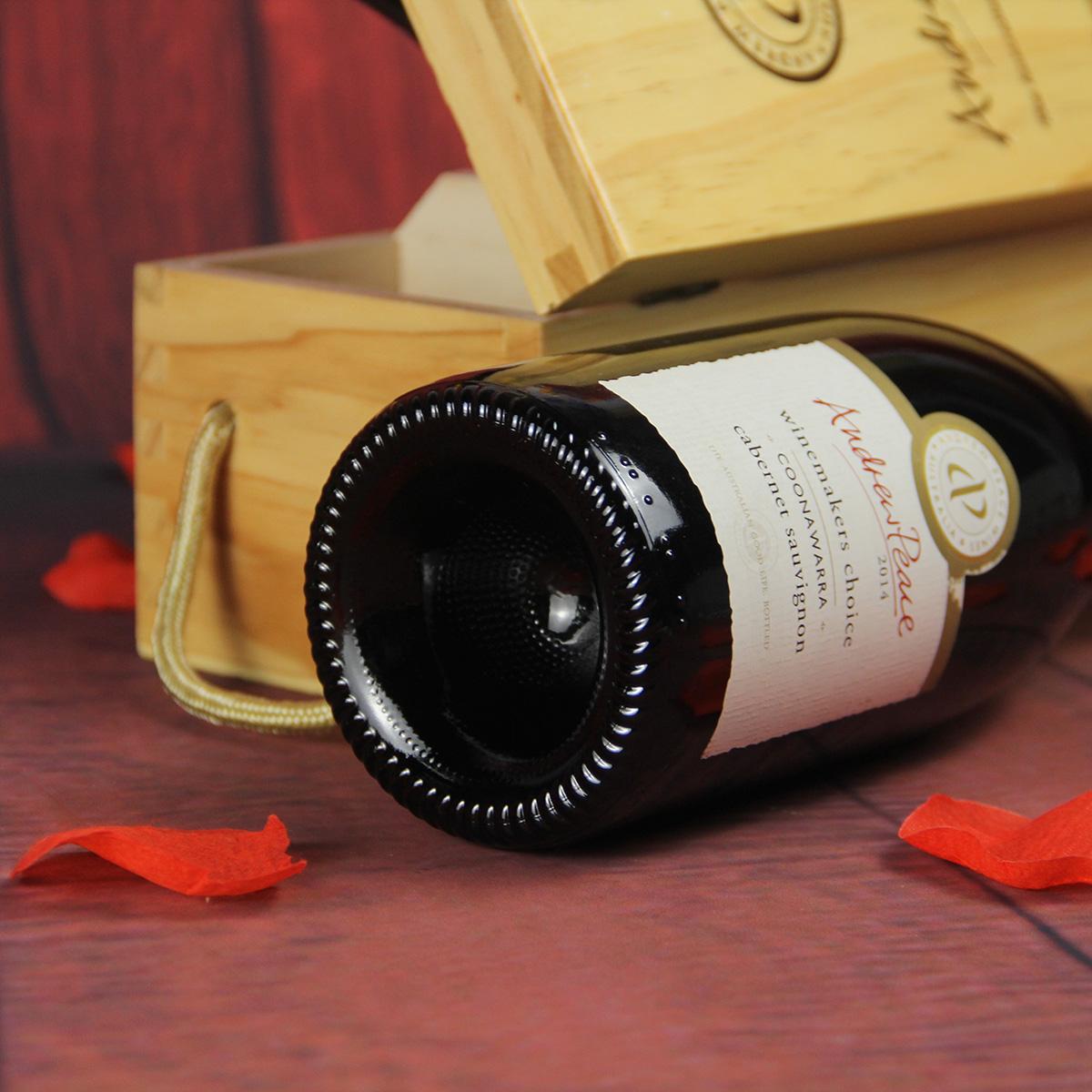 澳大利亚库纳瓦拉安德鲁皮士酒庄酿酒师的选择赤霞珠干红葡萄酒